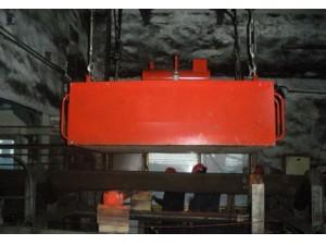 RCDE油冷式电磁除铁器使用现场