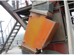管道式自动除铁器使用现场